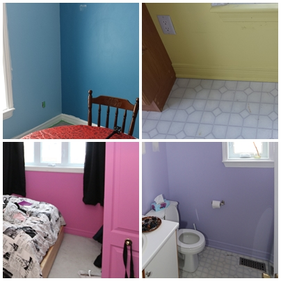 coloured rooms