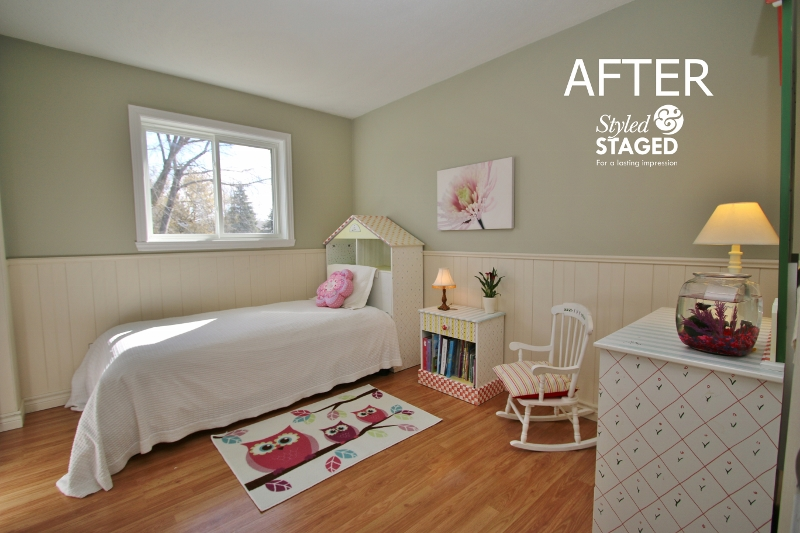 Simplify Rooms When Staging Ottawa Home Stager