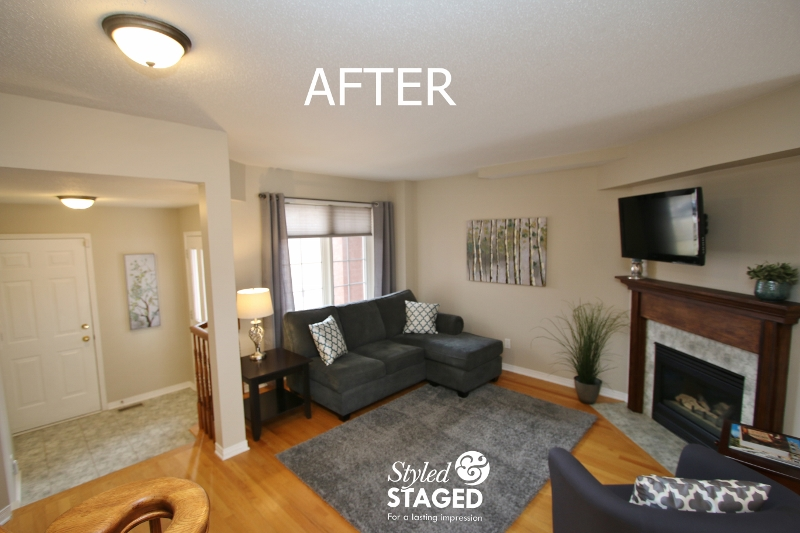 Paint Changes Everything For Staging Ottawa Home Stager
