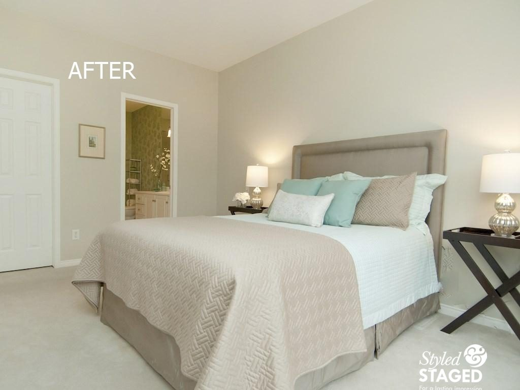 Little tweaks can make a huge difference in staging ottawa home stager Difference between master bedroom and ensuite